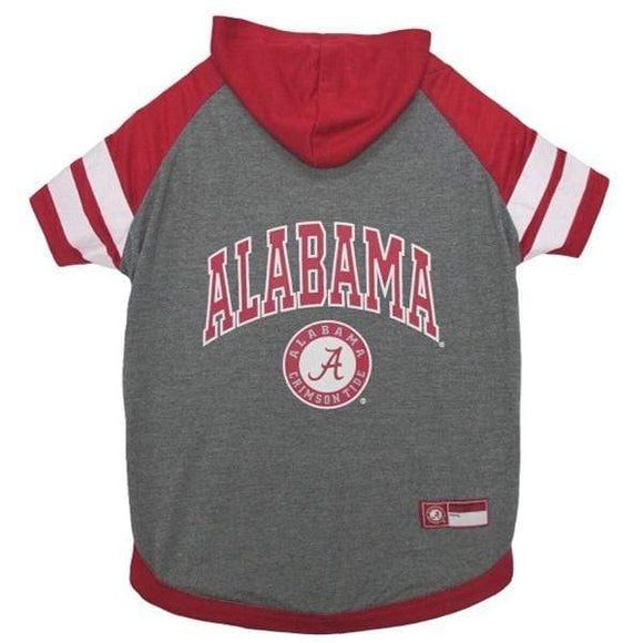 Pets First Dog-products NCAA Large Alabama Crimson Tide Pet Hoodie T