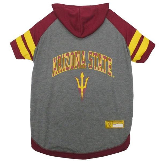 Pets First Dog-products NCAA Large Arizona State Sun Devils Pet Hoodie T