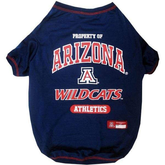 Pets First Dog-products NCAA Large Arizona Wildcats Pet T