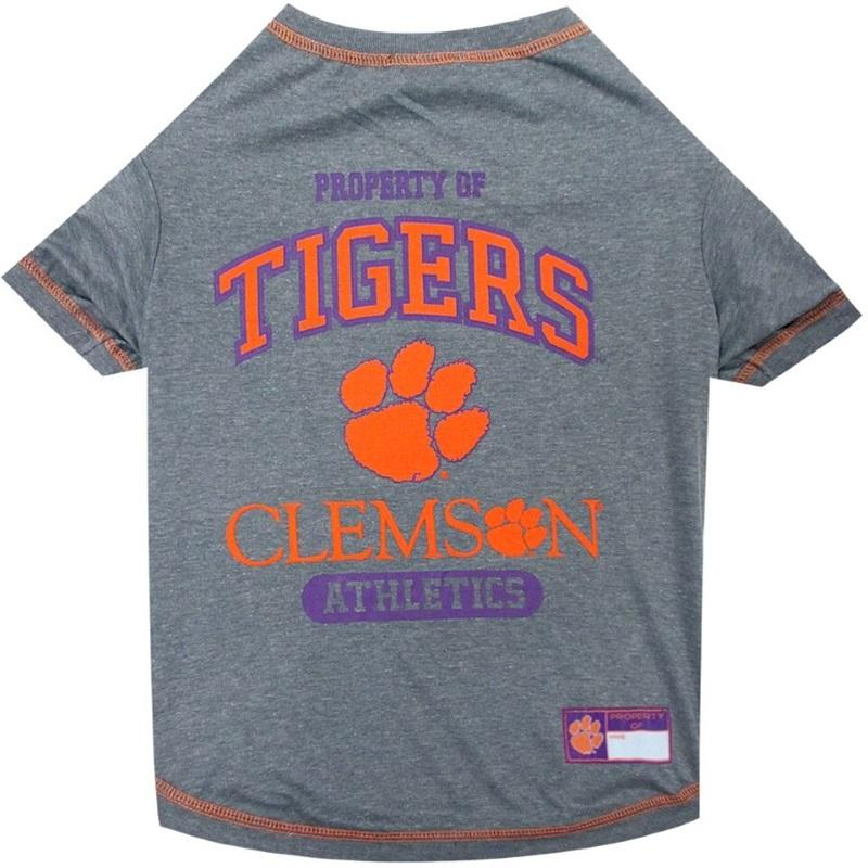 Pets First Dog-products NCAA Large Clemson Tigers Pet T