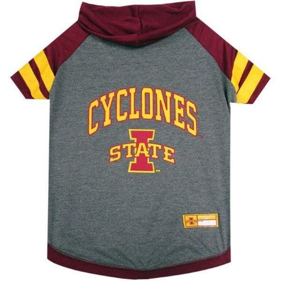Pets First Dog-products NCAA Large Iowa State Cyclones Pet Hoodie T