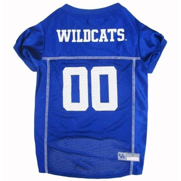 Pets First Dog-products NCAA Large Kentucky Wildcats Pet Jersey