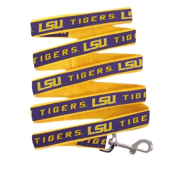 Pets First Dog-products NCAA Large Lsu Tigers Pet Leash By Pets First