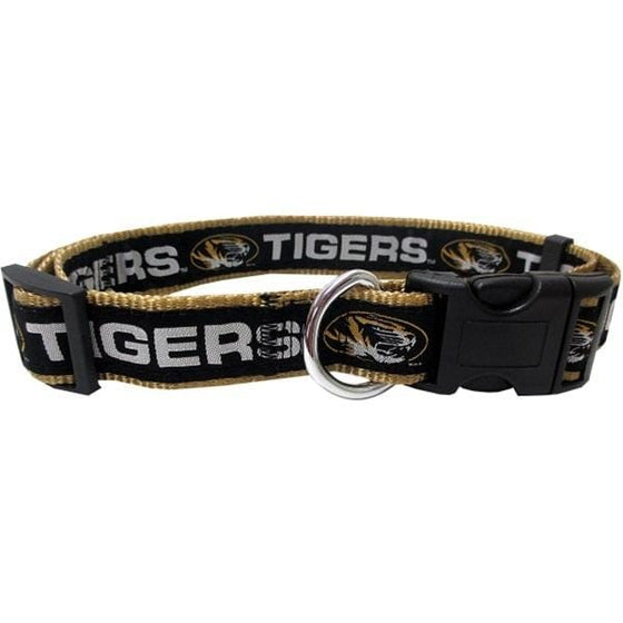 Pets First Dog-products NCAA Large Missouri Tigers Pet Collar By Pets First