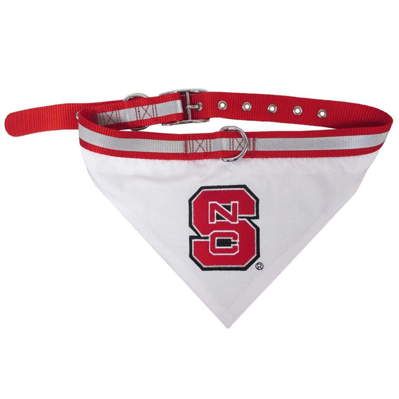 Pets First Dog-products NCAA Large Nc State Wolfpack Pet Collar Bandana