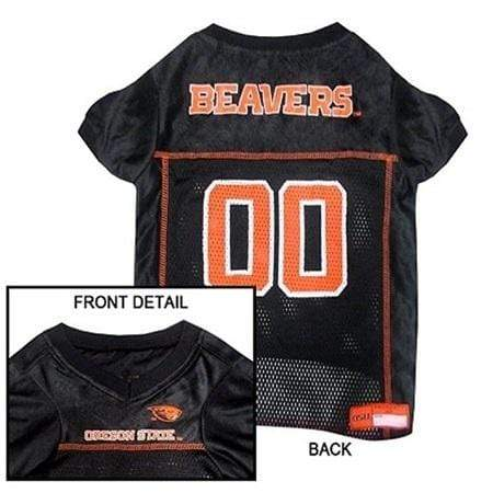 Pets First Dog-products NCAA Large Oregon State Beavers Pet Jersey