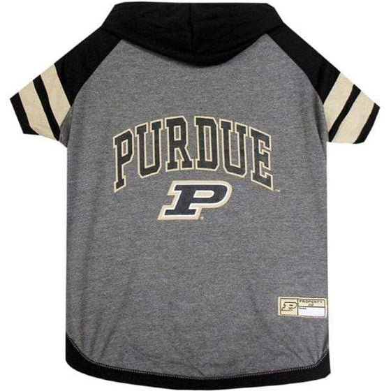 Pets First Dog-products NCAA Large Purdue Boilermakers Pet Hoodie T