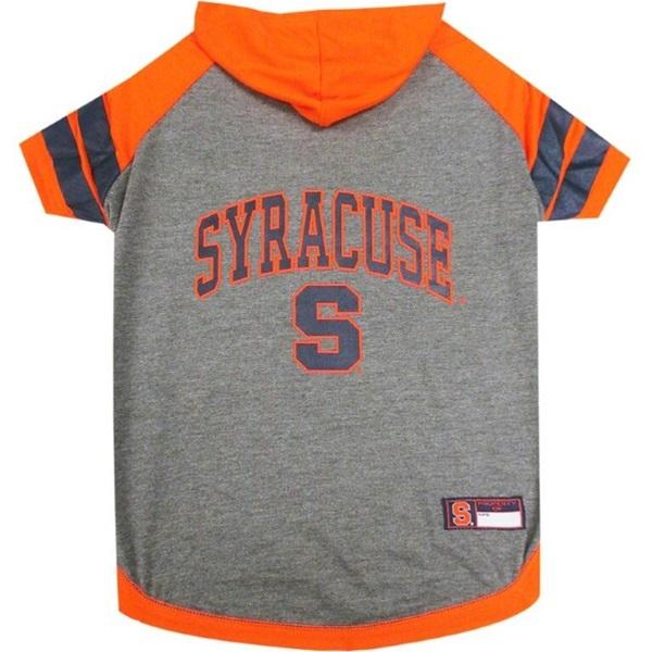 Pets First Dog-products NCAA Large Syracuse Orange Pet Hoodie T