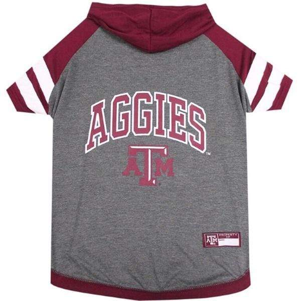 Pets First Dog-products NCAA Large Texas A&m Aggies Pet Hoodie T