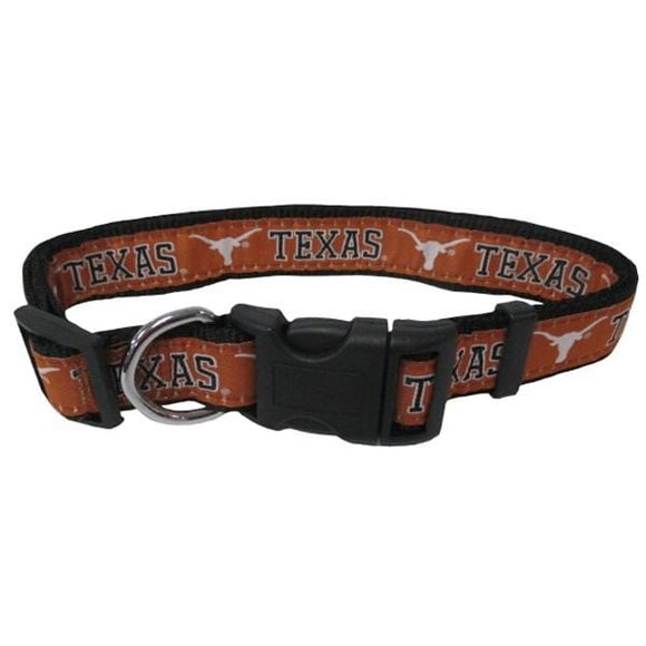 Pets First Dog-products NCAA Large Texas Longhorns Pet Collar By Pets First