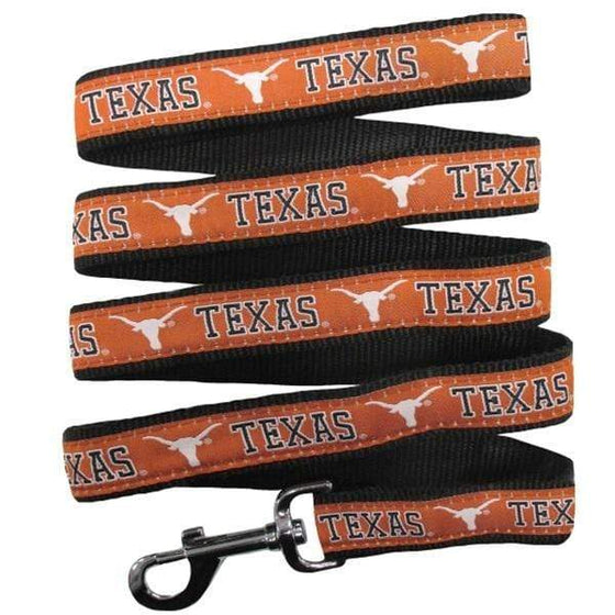 Pets First Dog-products NCAA Large Texas Longhorns Pet Leash By Pets First