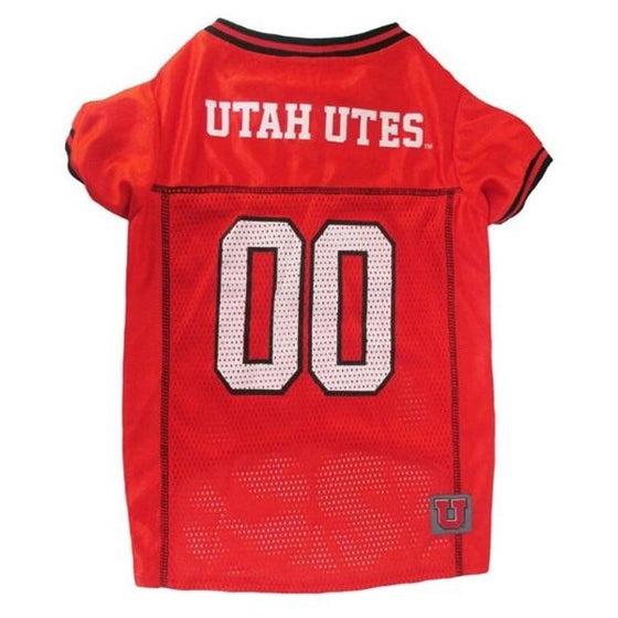Pets First Dog-products NCAA Large Utah Utes Pet Jersey