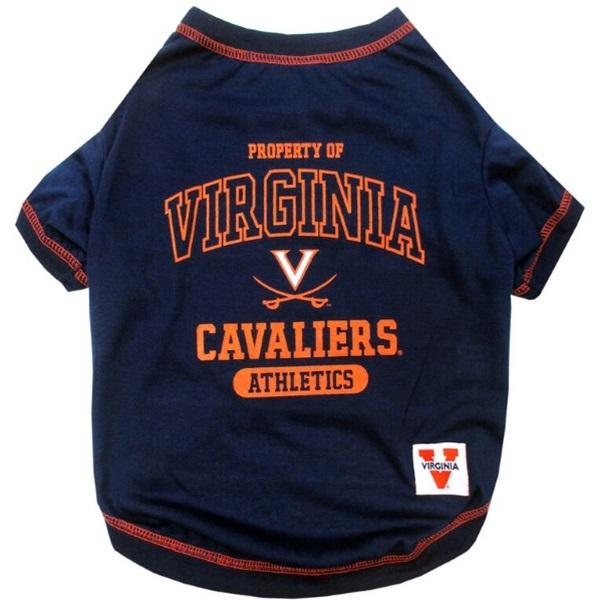 Pets First Dog-products NCAA Large Virginia Cavaliers Pet Tee Shirt