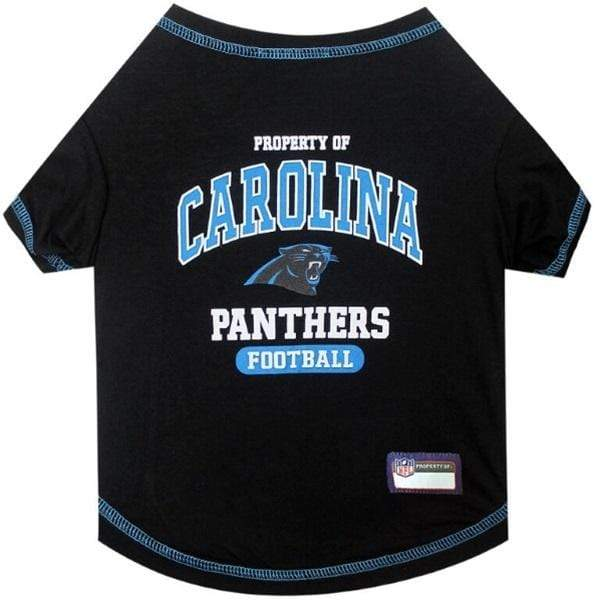 Pets First Dog-products NFL Large Carolina Panthers Pet T