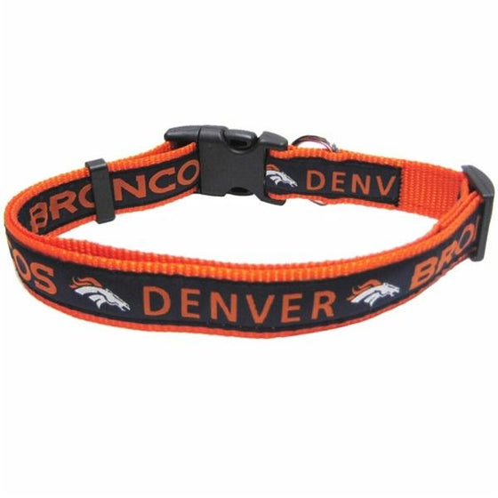 Pets First Dog-products NFL Large Denver Broncos Pet Collar By Pets First