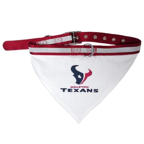 Pets First Dog-products NFL Large Houston Texans Pet Collar Bandana