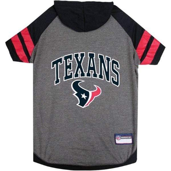 Pets First Dog-products NFL Large Houston Texans Pet Hoodie T