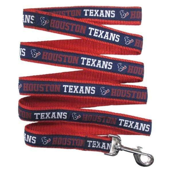 Pets First Dog-products NFL Large Houston Texans Pet Leash By Pets First