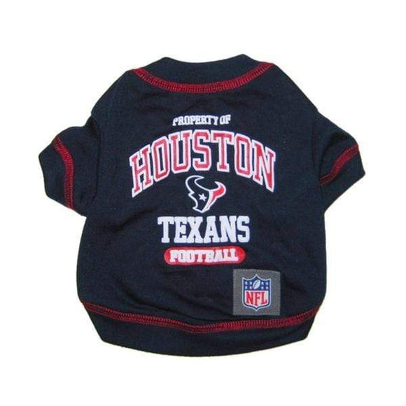 Pets First Dog-products NFL Large Houston Texans Pet T