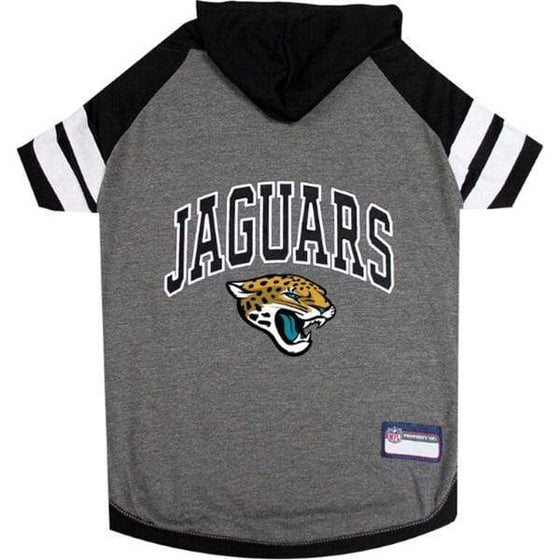 Pets First Dog-products NFL Large Jacksonville Jaguars Pet Hoodie T