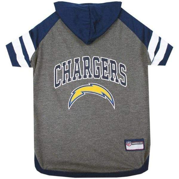 Pets First Dog-products NFL Large Los Angeles Chargers Pet Hoodie T