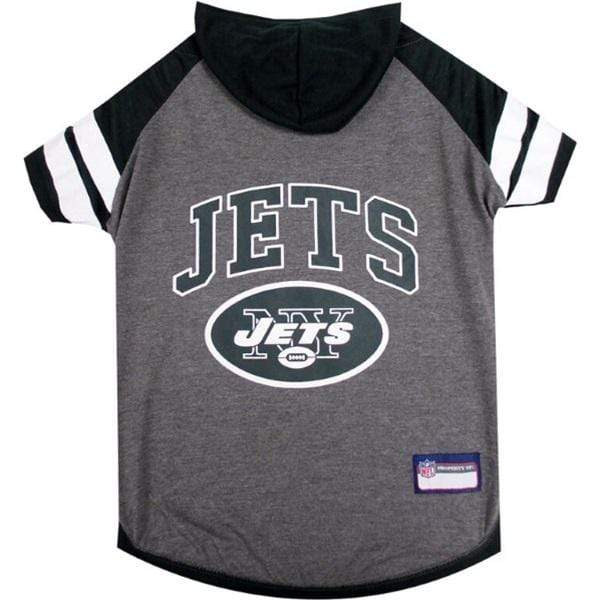 Pets First Dog-products NFL Large New York Jets Pet Hoodie T