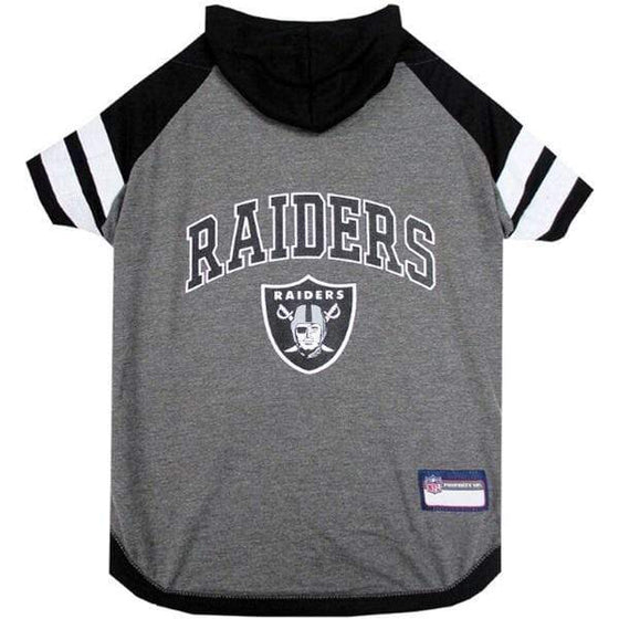 Pets First Dog-products NFL Large Oakland Raiders Pet Hoodie T