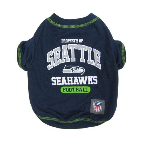 Pets First Dog-products NFL Large Seattle Seahawks Pet T