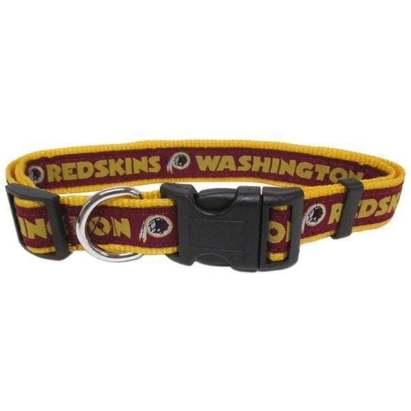 Pets First Dog-products NFL Large Washington Redskins Pet Collar By Pets First