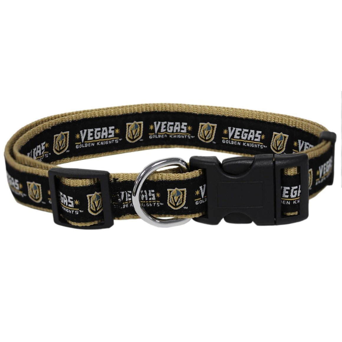 Pets First Dog-products NHL Large Vegas Golden Knights Pet Collar By Pets First