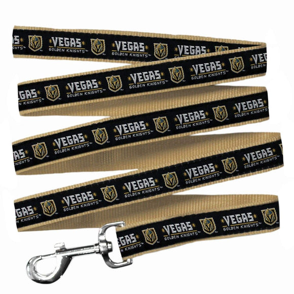 Pets First Dog-products NHL Large Vegas Golden Knights Pet Leash By Pets First