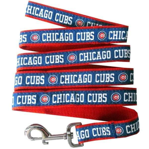 Pets First Dog-products MLB Medium Chicago Cubs Pet Leash By Pets First