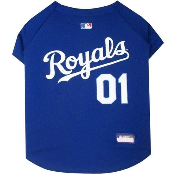 Pets First Dog-products MLB Medium Kansas City Royals Pet Jersey