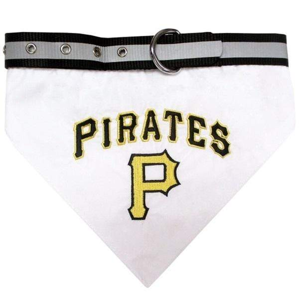 Pets First Dog-products MLB Medium Pittsburgh Pirates Pet Collar Bandana