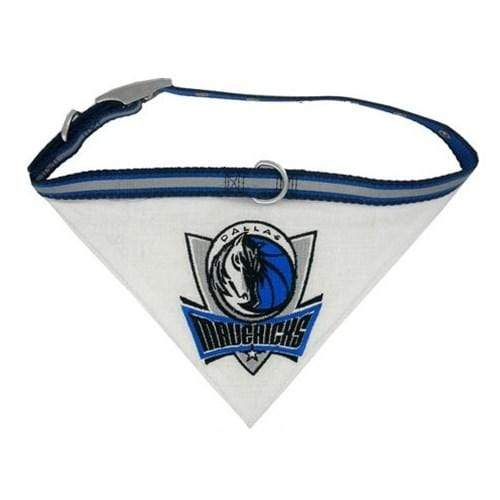 Pets First Dog-products NBA Medium Dallas Mavericks Dog Collar Bandana