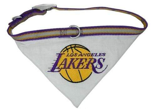 Pets First Dog-products NBA Medium Los Angeles Lakers Dog Collar Bandana