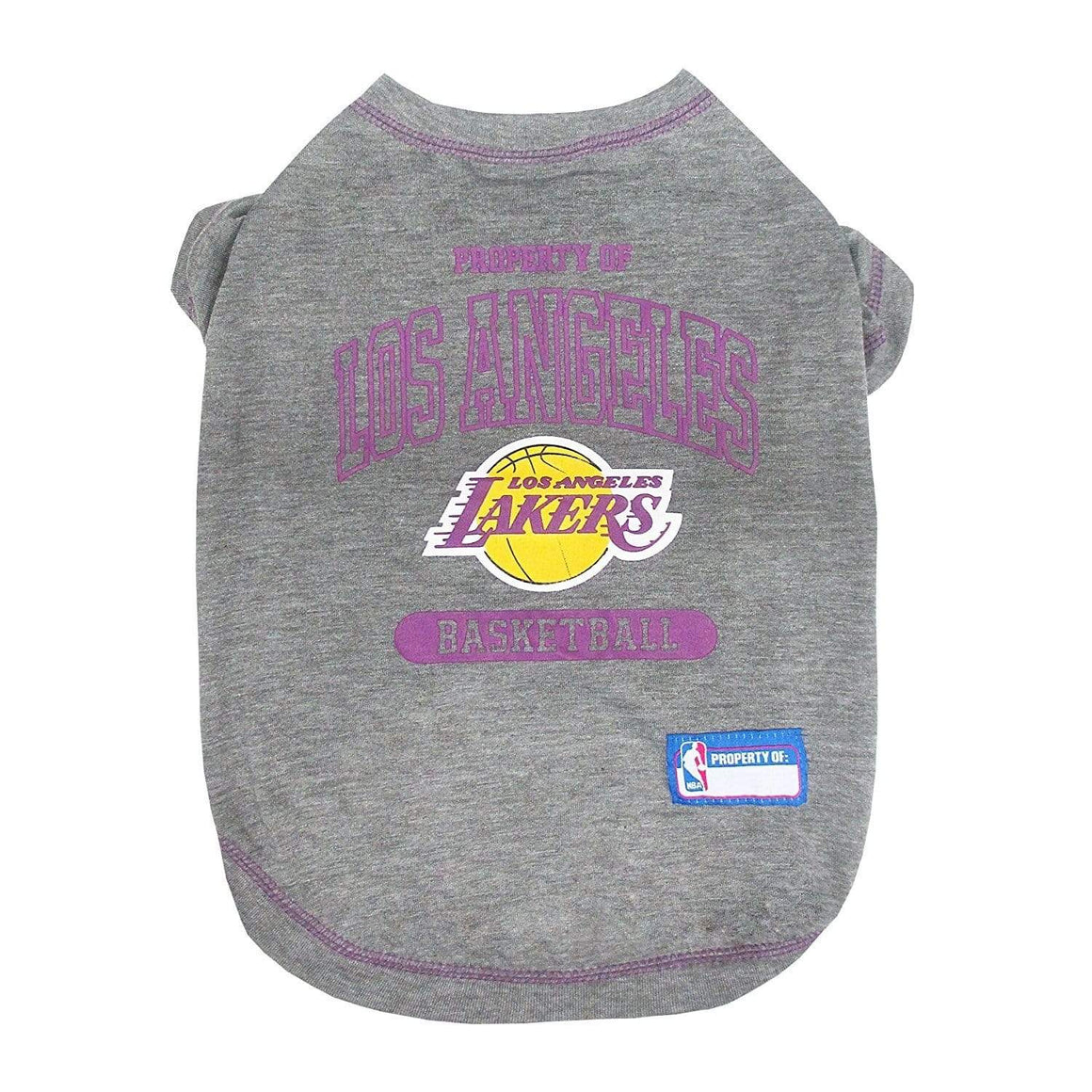 Pets First Dog-products NBA Medium Los Angeles Lakers Pet T