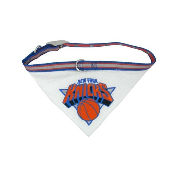Pets First Dog-products NBA Medium New York Knicks Dog Collar Bandana