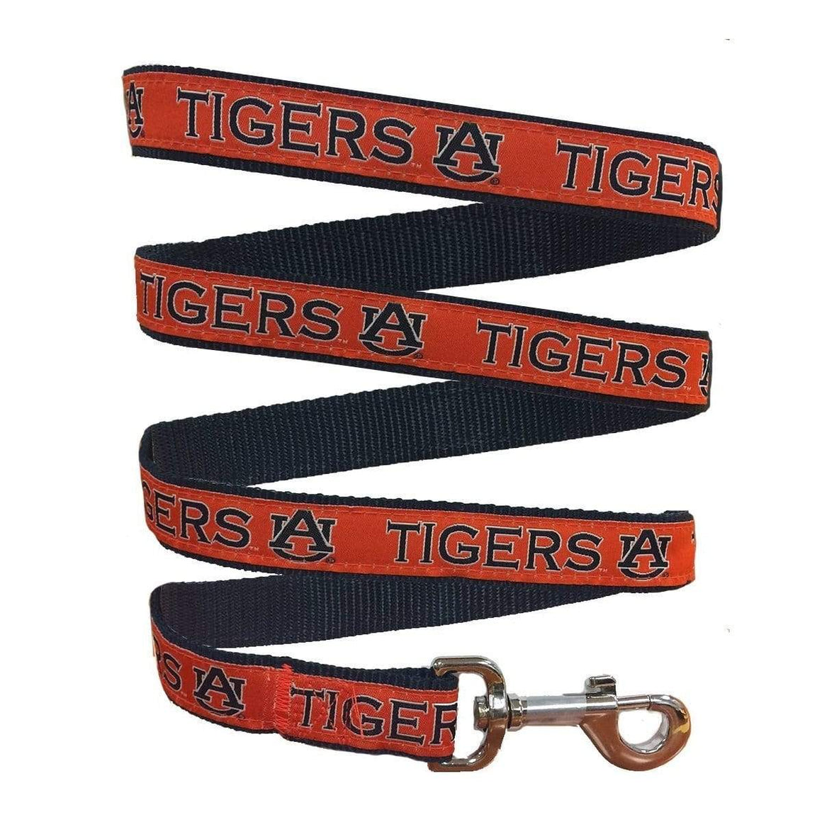Pets First Dog-products NCAA Medium Auburn Tigers Pet Leash By Pets First