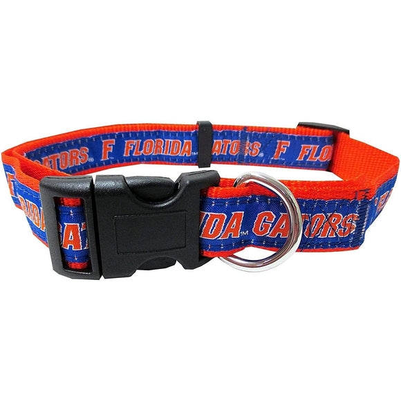 Pets First Dog-products NCAA Medium Florida Gators Pet Collar By Pets First