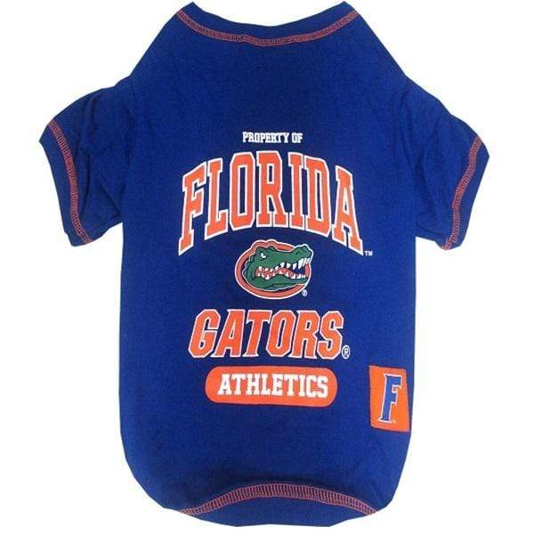 Pets First Dog-products NCAA Medium Florida Gators Pet Tee Shirt
