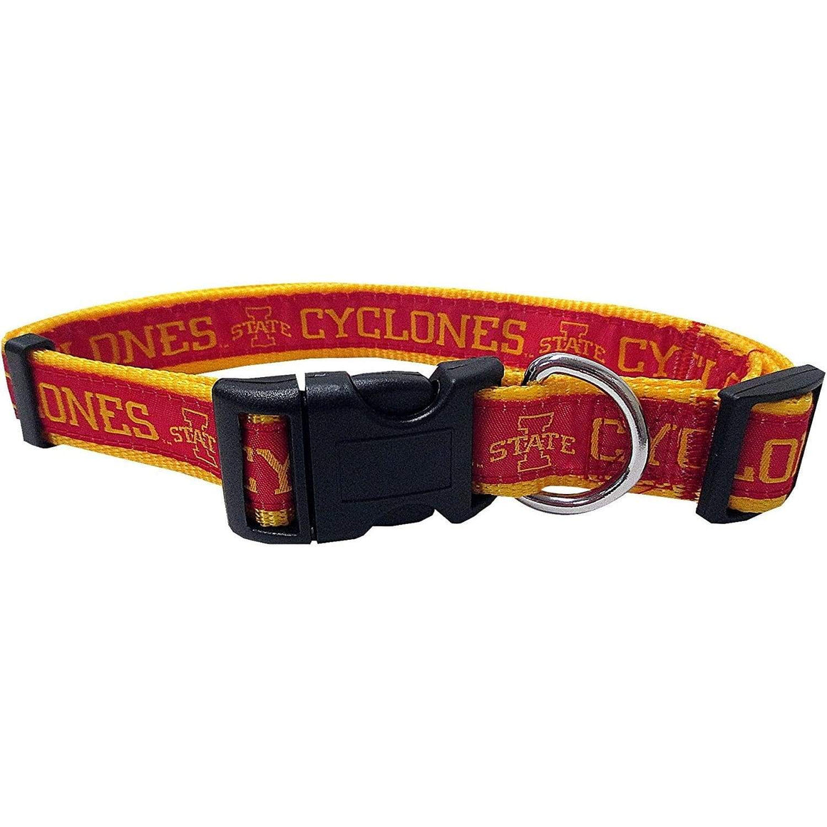 Pets First Dog-products NCAA Medium Iowa State Cyclones Pet Collar By Pets First