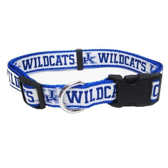 Pets First Dog-products NCAA Medium Kentucky Wildcats Pet Collar By Pets First