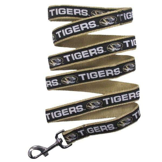 Pets First Dog-products NCAA Medium Missouri Tigers Pet Leash By Pets First