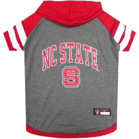Pets First Dog-products NCAA Medium Nc State Wolfpack Pet Hoodie T