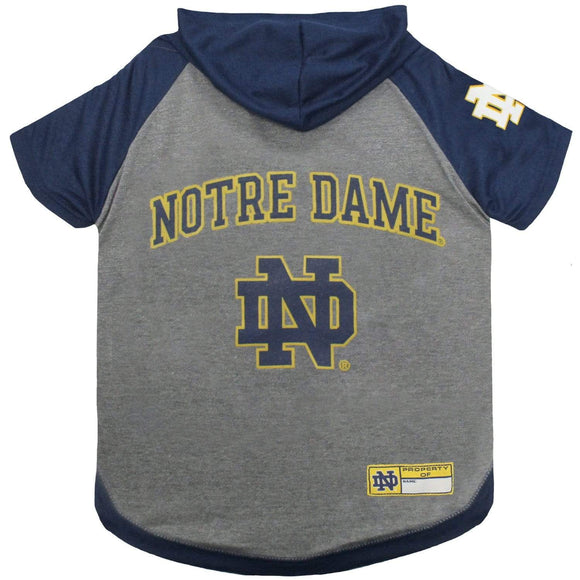 Pets First Dog-products NCAA Medium Notre Dame Fighting Irish Pet Hoodie T