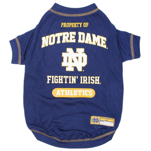 Pets First Dog-products NCAA Medium Notre Dame Fighting Irish Pet T