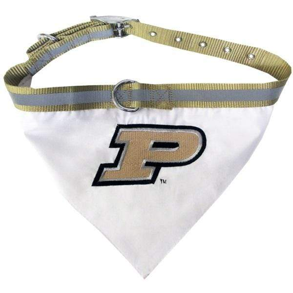 Pets First Dog-products NCAA Medium Purdue Boilermakers Pet Collar Bandana