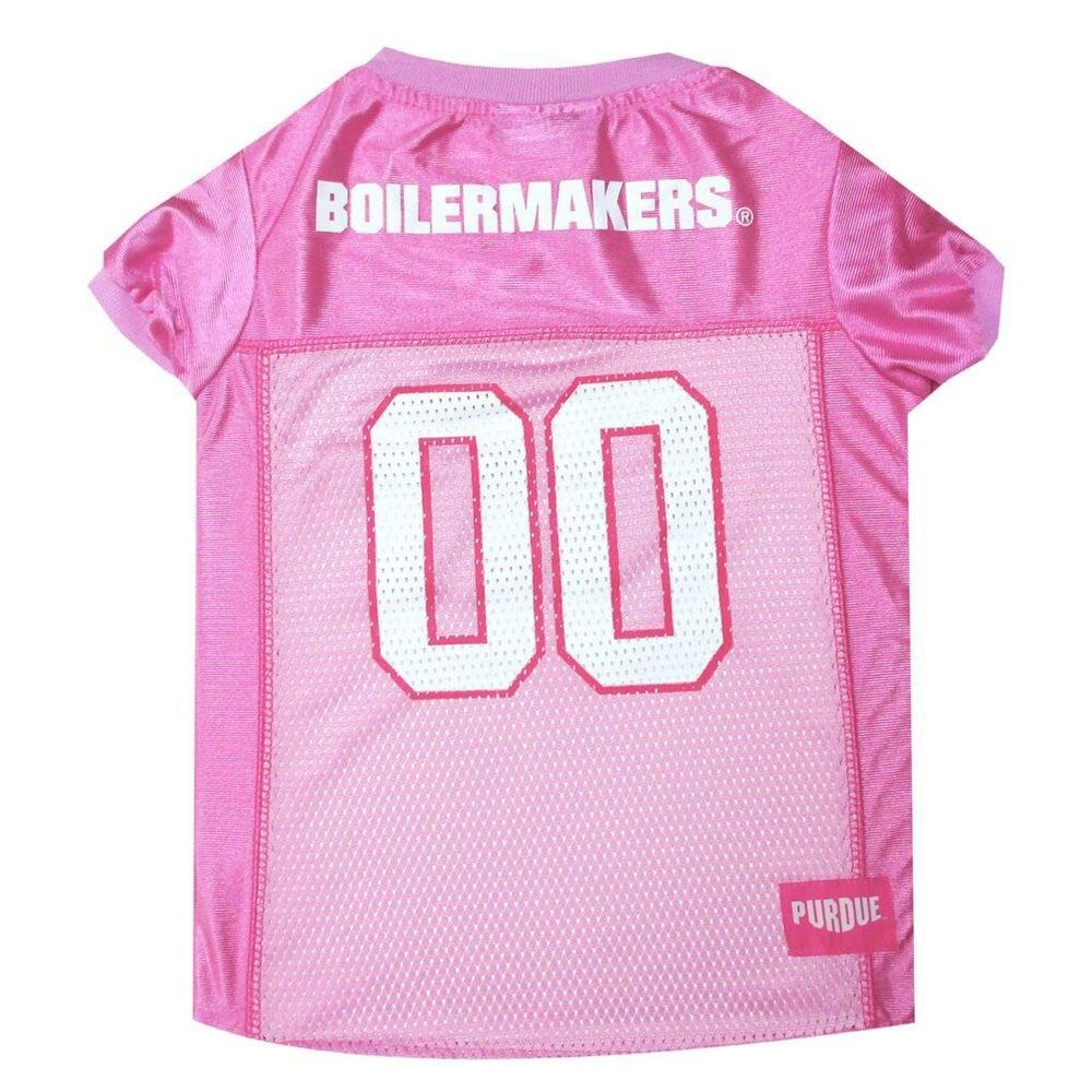 Pets First Dog-products NCAA Medium Purdue Boilermakers Pink Pet Jersey