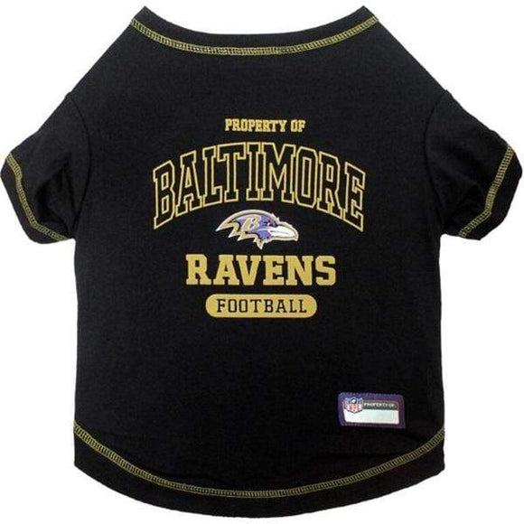 Pets First Dog-products NFL Medium Baltimore Ravens Pet T